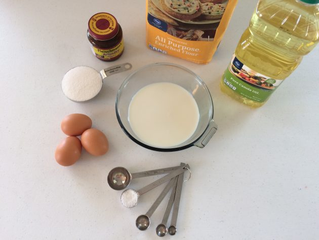 ingredients for cinnamon rolls recipe
