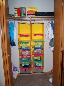 I Love These Closet Organizers Put The S Clothes Away In Them By Outfit And It Saves So Much Time Effort Picking Out Morning
