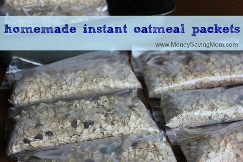 Homemade Instant Oatmeal Packets - Money Saving Mom®