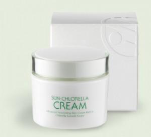 Sun chlorella cream