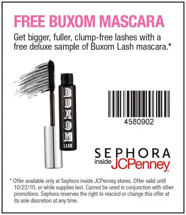 JCPenney: Free Buxom Lash Mascara Deluxe sample - Money Saving Mom®