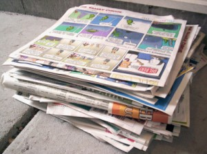 New uses for newspapers