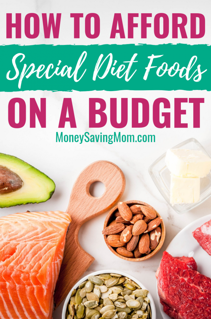 How to afford special diet foods on a budget