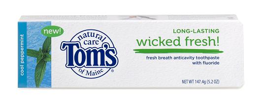 Walmart: Toms Natural Toothpaste for just $1.58