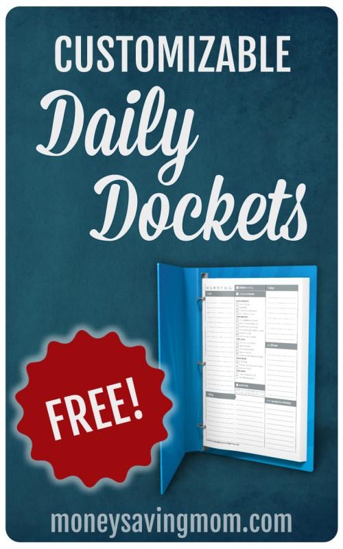 Money Saving Mom® Daily Dockets