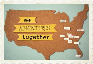 DoItYourself Corkboard Travel Map Money Saving Mom - Corkboard us map