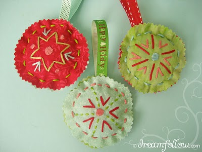 Do it yourself three easy christmas ornament ideas for Easy home made christmas decorations