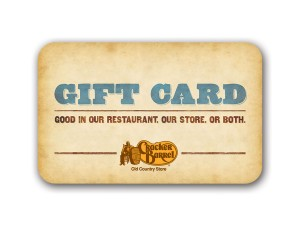 Where to buy cracker barrel gift cards