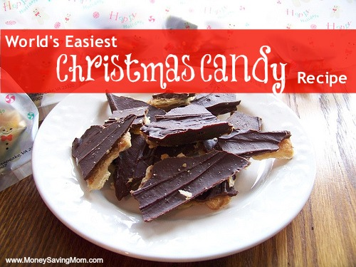 World's Easiest Christmas Candy Recipe - Money Saving Mom®