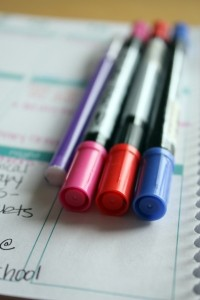 Color Coding Daily Planner
