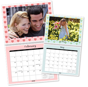 New features with Snapfish calendars for Add embellishments to your photo calendars or add a matching background in your dates selection and personalize special dates with photos and text.