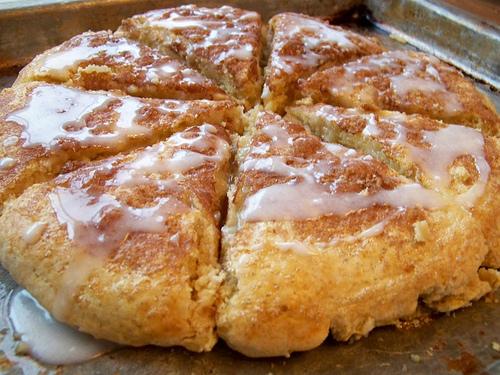 Glazed Cinnamon Scones Recipe - Money Saving Mom®