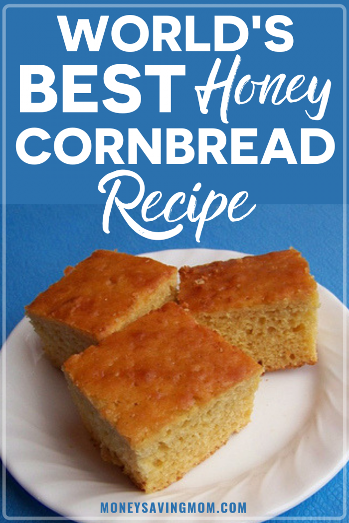 World's Best Honey Cornbread
