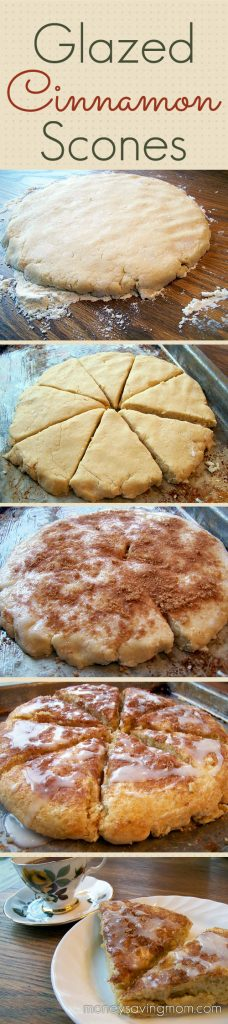 Glazed Cinnamon Scones – Dan330