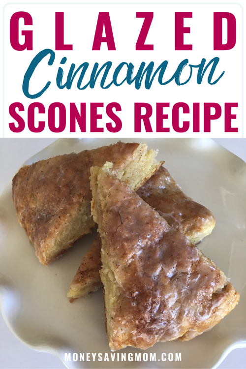 Glazed Cinnamon Scones Recipe
