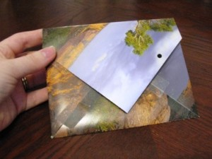 Do it yourself make envelopes out of old calendars money saving simply solutioingenieria Images