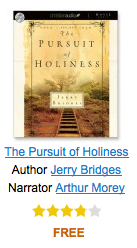Christianaudio free download of the pursuit of holiness by christianaudio is offering a free download of the pursuit of holiness by jerry bridges fandeluxe Images