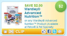 21 Wardley Fish Food Coupon Free At Walmart And Petco Money