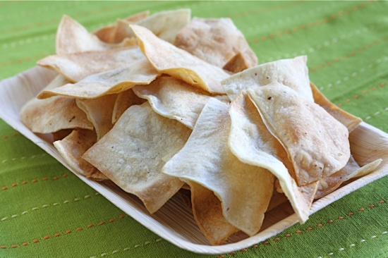 Two Peas and Their Pod posted a Homemade Baked Tortilla Chips recipe .