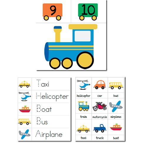 Free preschool transportation crafts