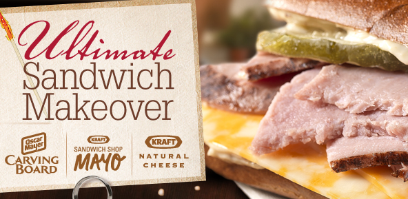 Host A Free Ultimate Sandwich Party From House Party on oscar mayer carving board meats coupons save 1 with