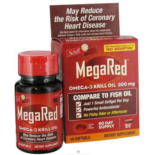 FREE Schiff MegaRed Krill Oil.