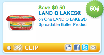 Land o lakes butter coupon 2018
