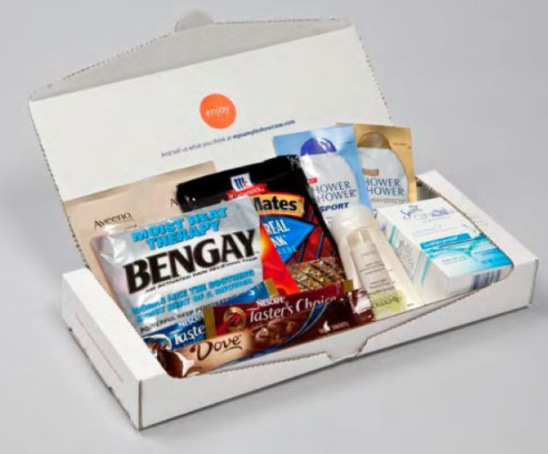Hot!* Sign up to receive a box of free samples from Sample Showcase!