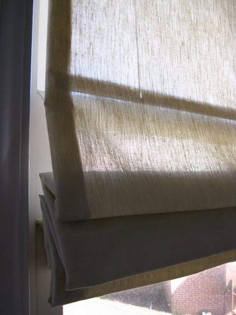 Do It Yourself How To Turn Mini Blinds Into Roman Shades