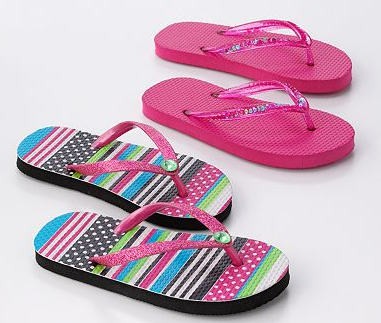 Kohl's: Flip Flops for as low as $1.75 per pair shipped ...