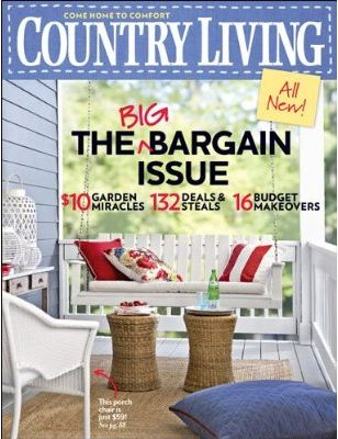 Country living magazine for 5 per year for Time magazine subscription cancellation