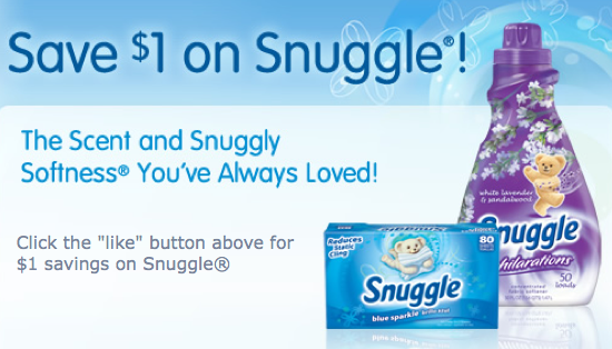photo relating to Snuggle Coupons Printable known as $1/1 Snuggle printable coupon (Fb Deliver) \u003d either