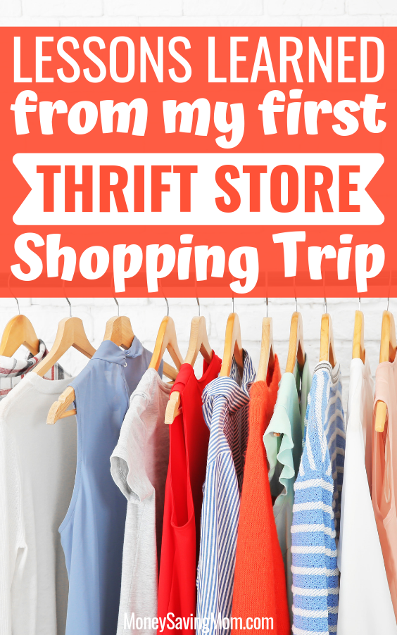 Lessons Learned from my First Thrift Store Shopping Trip