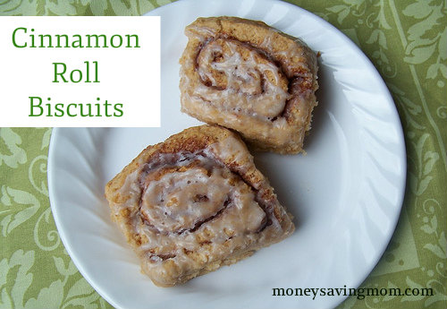 Cinnamon Roll Biscuits Recipe - Money Saving Mom®