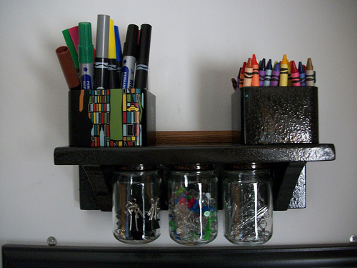 Etonnant Savings Lifestyle Shows You How To Make An Organizational Shelf With Baby  Food Jars. Do You Have A Fun And Frugal DIY ...