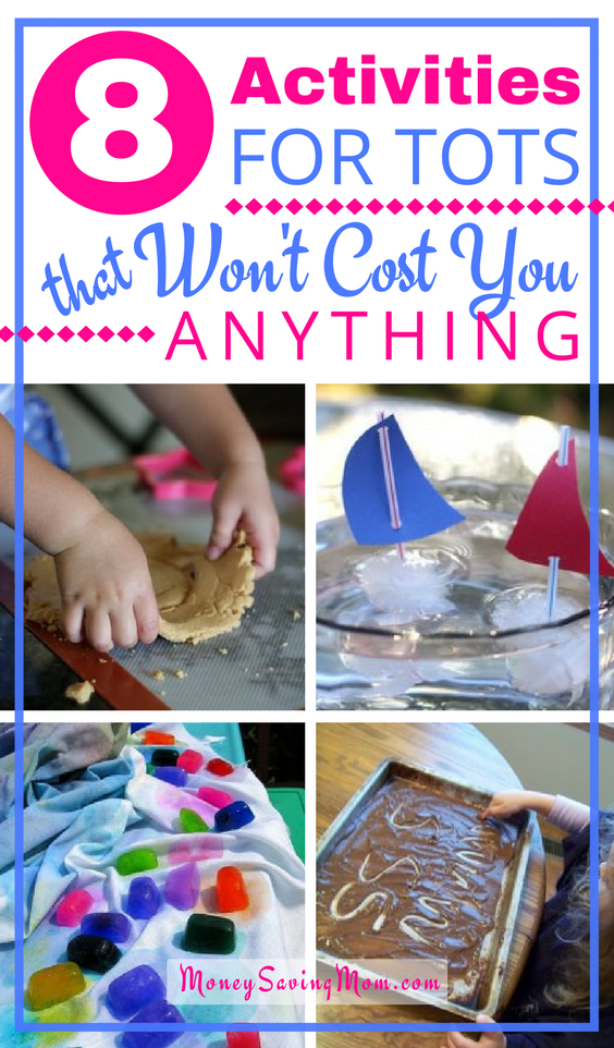 Looking for easy, FREE ways to keep your toddlers busy this summer? Check out these GREAT ideas!