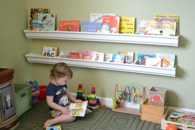 toy bookshelves do it yourself rain gutter book shelves money saving mom