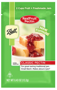 Free Ball Real Fruit Classic Pectin Sample
