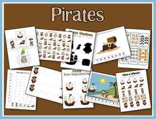 You can download a free Pirates Printables summer unit from 2 Teaching ...