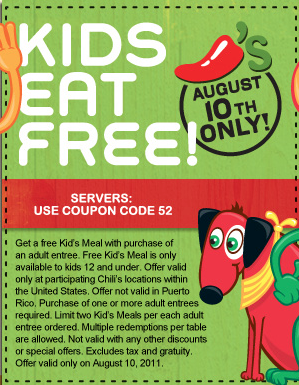 Just eat coupons august