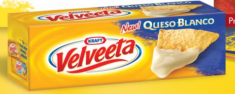 image about Velveeta Printable Coupon identified as $1/1 Velveeta Queso Blanco printable coupon Income Preserving