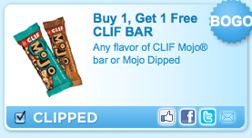 photo regarding Cliff Bar Printable Coupons titled Purchase A person, Consider One particular No cost Clif Mojo Bars printable coupon