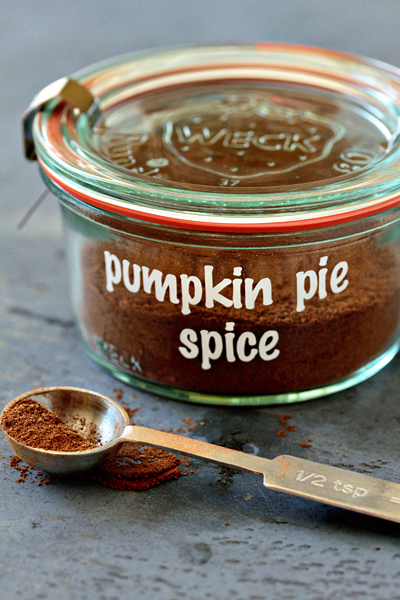 My Baking Addiction shows you how to make your own Pumpkin Pie Spice.