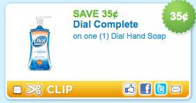 picture relating to Dial Soap Printable Coupon titled $0.35/1 Dial Hand Cleaning soap printable coupon - Funds Conserving Mother