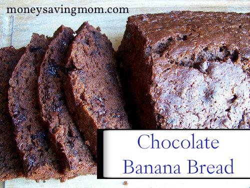 Chocolate Banana Bread Recipe - Money Saving Mom®