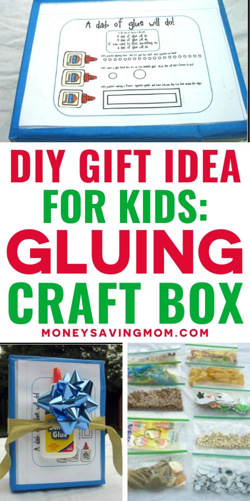 Handmade Gluing Craft Box for Kids