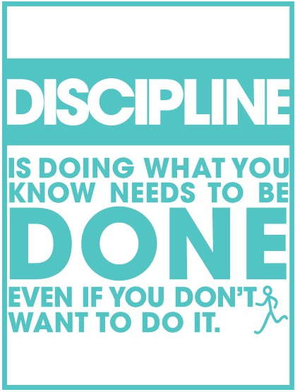 what is discipline in life