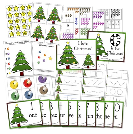 Christmas activity worksheets printable free