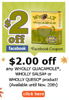 Wholly salsa coupon 2018