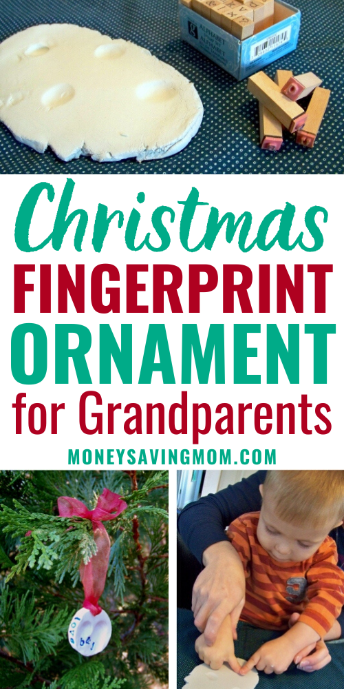DIY Fingerprint Ornament